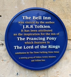 The Bell Inn, apparently the inspiration for the Prancing Pony in Lord of the Rings