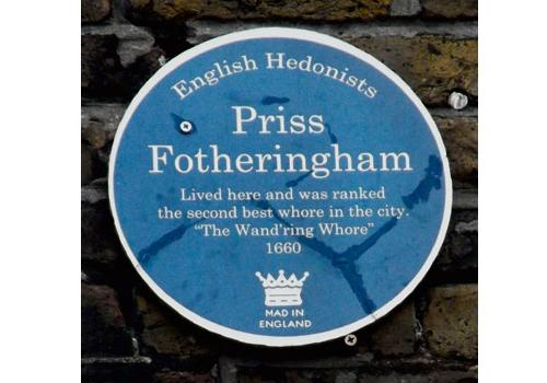plaque-priss fotheringham